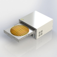 UV-Ozone Cleaning System for Large Wafers